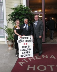 Congratulations Judge Gerace