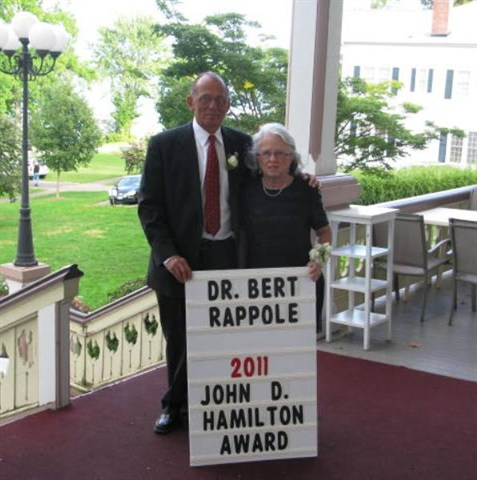 Dr. Bert and Mary Rappole