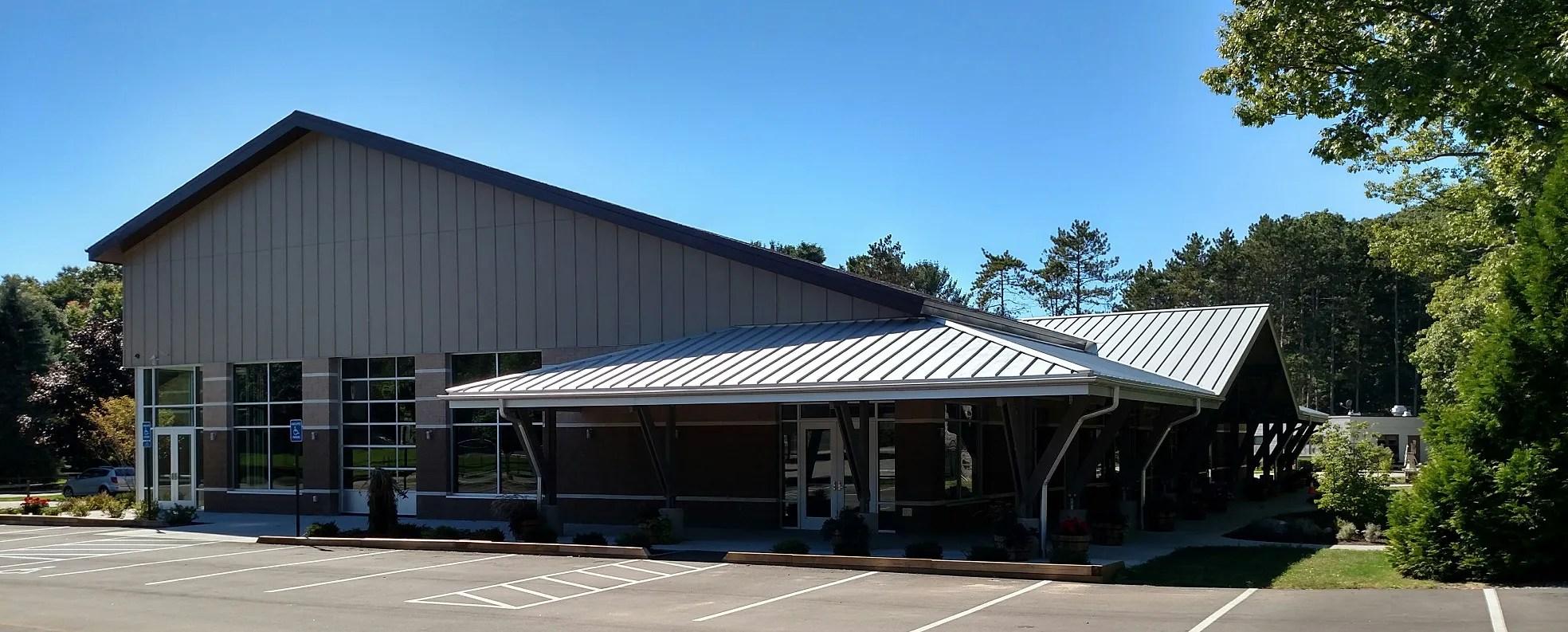 ministry center - exterior