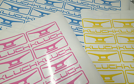 die cut decals