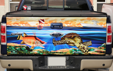 F150 Tailgate Wrap