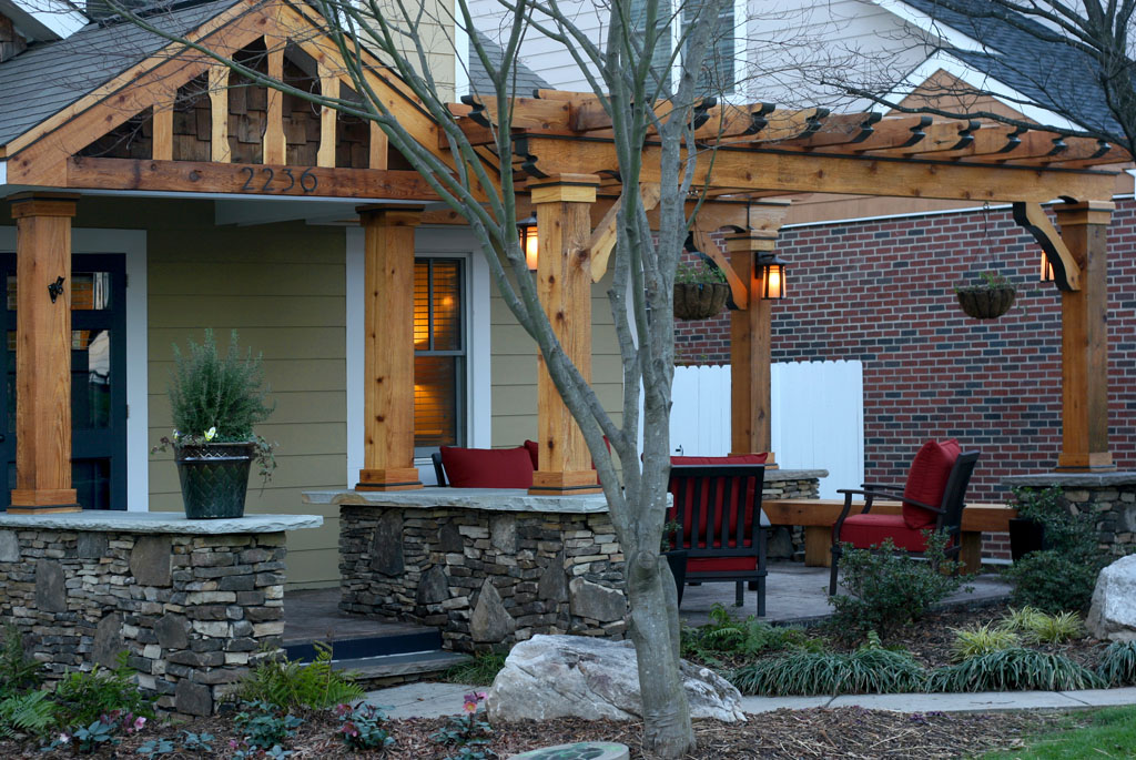 Photos of Outdoor Living Projects in Charlotte NC ... on Add On Patio Ideas  id=55174