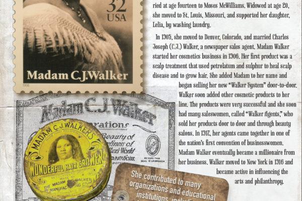 Madam Walker Poster