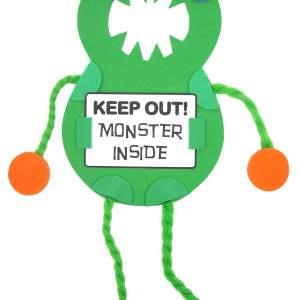 Mister Maker - Monster Door Hanger Kit-0