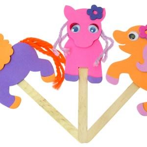 Mister Maker Mini Makes - Playstick Ponies-0