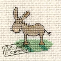 Tiddlers Cross Stitch Kits - Donkey-0