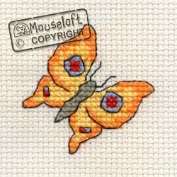 Stitchlets Cross Stitch Kits - Bright Butterfly-0