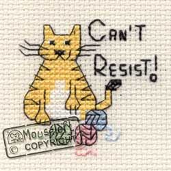 Can't Resist Mini Cross Stitch Kit-0