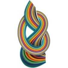 10mm Quilling Paper - Assorted Colours-0