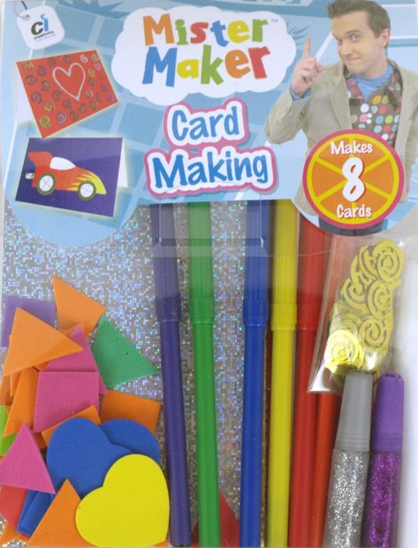 Mister Maker - Card Making-26217