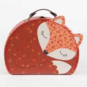 Angus the Fox suitcase set