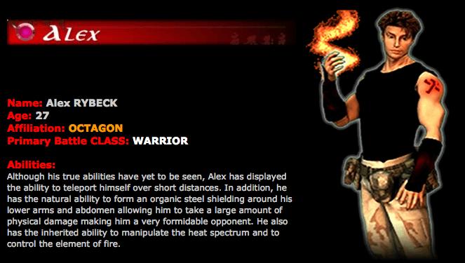 Alex: Warrior