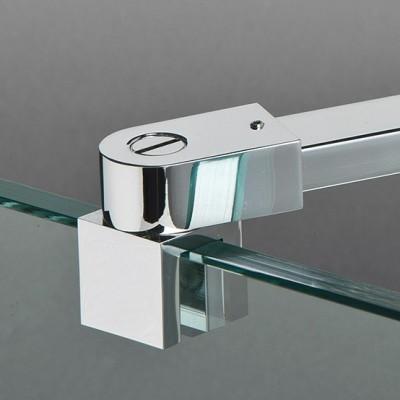barre raidisseur verre mur pour pare douche crea glass