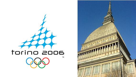 Официальная Эмблема Зимней Олимпиады в Турине - 2006
