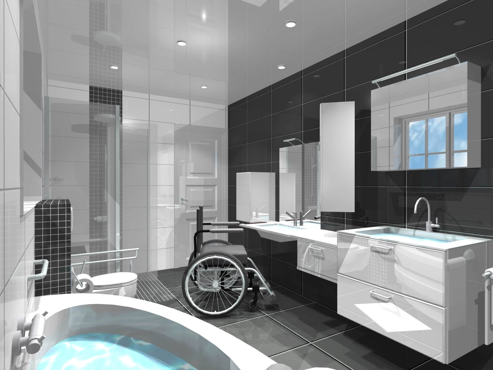 Salle De Bain Comment Ladapter Pour Une Personne Handicape