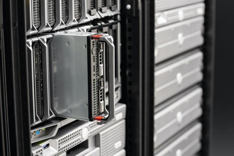 Blade Server In SAN At Datacenter