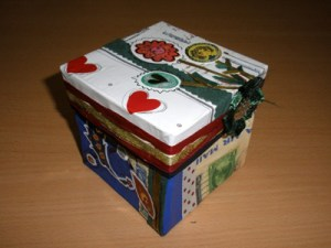 Caja scrapbooking