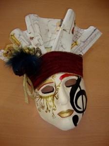 mascara de vendas de yeso