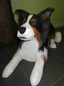 perro de porexpan