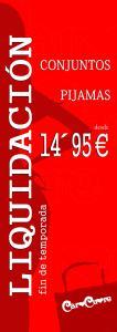 cartel liquidacion