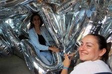 globos ultramarinos con elio