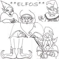 bocetos elfos