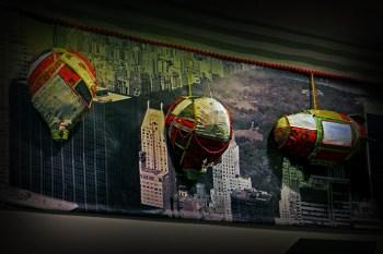decoracion de navidad carniceria