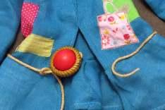 cinturon porexpan y cuerda