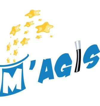 Le logo MAgis dynamisé