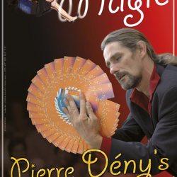 Affiche pour le spectacle de magie de Pierre Denys