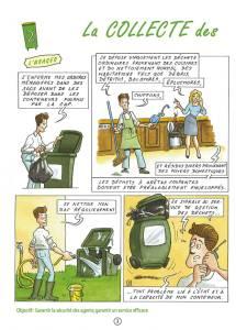 Communication BD: La charte qualité des déchets en Bande Dessinée-p3