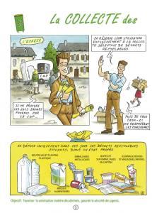 Communication BD: La charte qualité des déchets en Bande Dessinée-p5