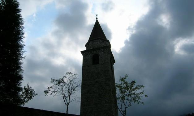 Campanile della Chiesa di Santa Maria di Gorto (Udine)