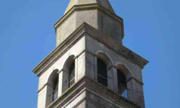 Campanile della Chiesa Parrocchiale di San Mauro Martire di Teor
