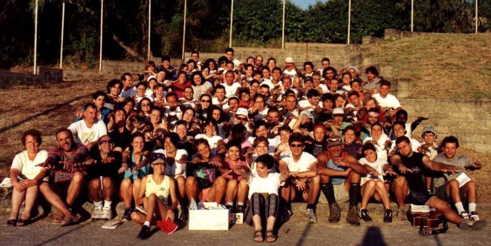Pellegrini della Missione – GMG 2000