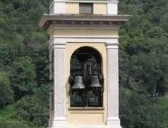 Campanile della Chiesa Parrocchiale dei SS. Pietro e Paolo di Laorca (Lecco)