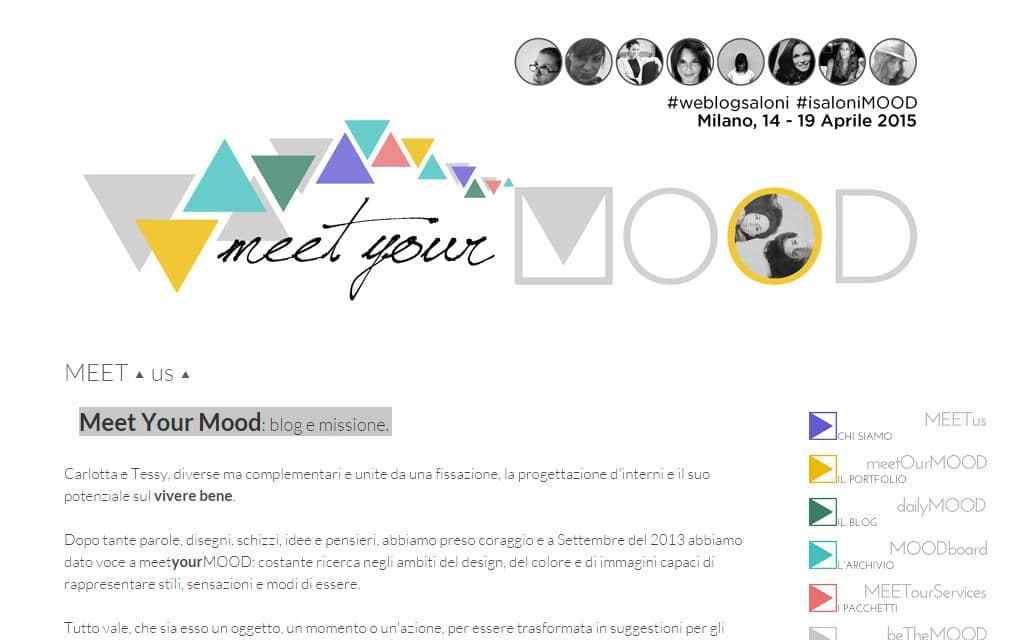 Meet Your Mood: blog e missione.