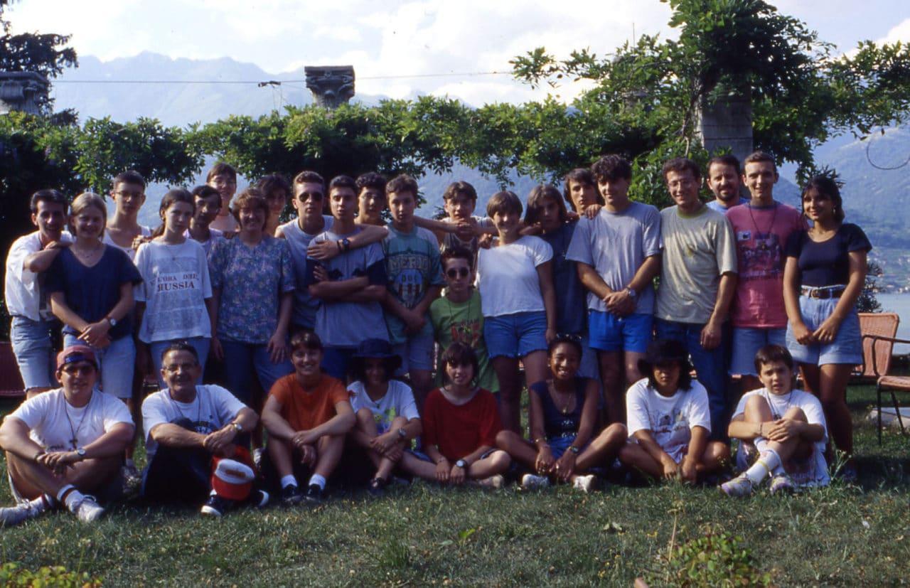 Campo Adolescenti 1994 IMC - Foto gruppo