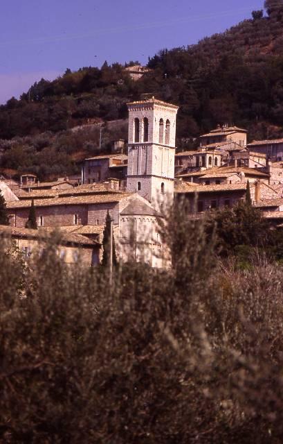 Assisi - Vista città vecchia