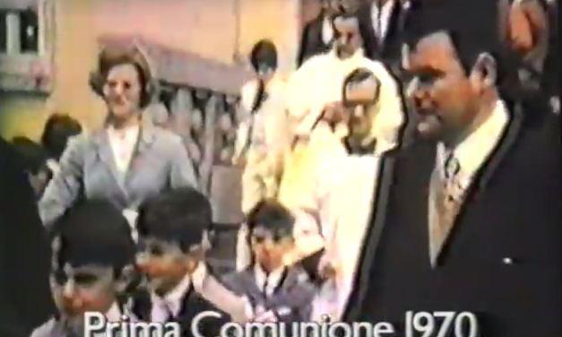 Prima Comunione – Maggio 1970 – 2° Puntata