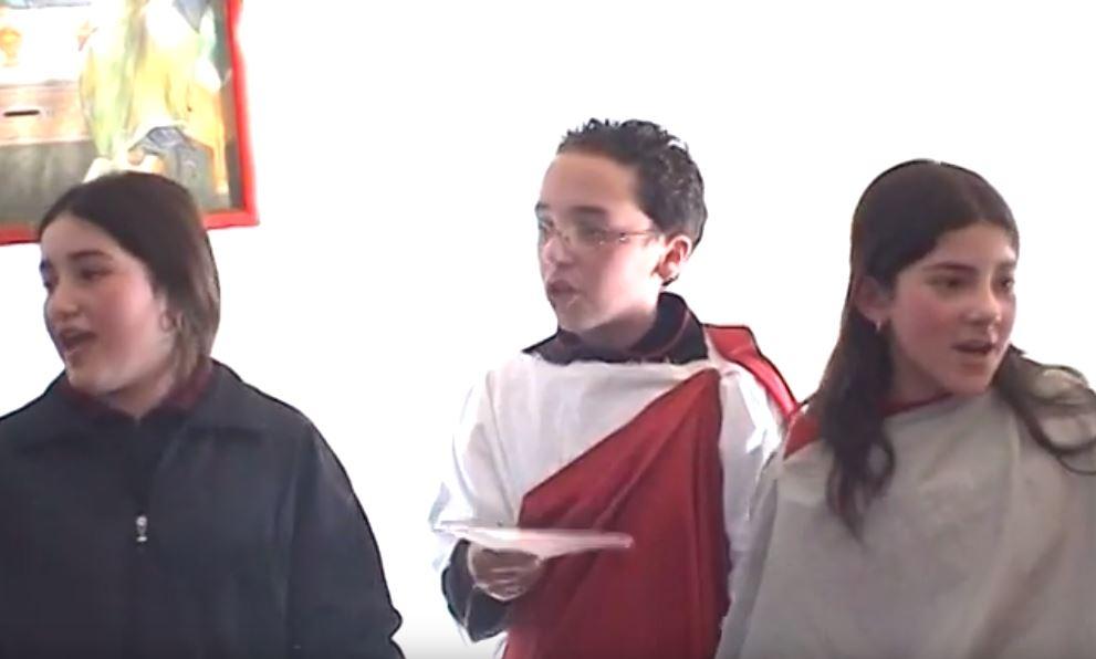 Recita Ragazzi delle scuole – Pasqua 2003