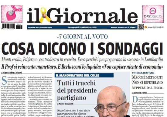 Il giornale – RSS