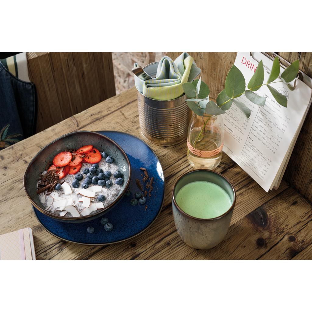 villeroy boch lave bleu kaffeebecher 400ml blau steingut