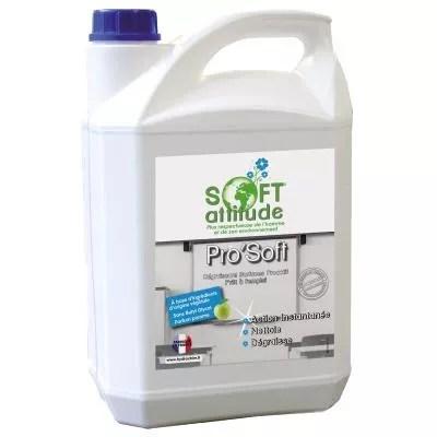 Dégraissant prêt à l'emploi ecocert pro'soft bidon 5 litres