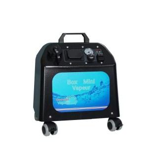 Générateur vapeur professionnel pour bionettoyage par vapeur d'eau