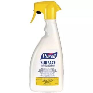 Désinfectant virucide de surface prêt à l'emploi Purell pulvérisateur de 750ml