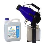 appareil nébuliseur ATOM 105 avec désinfectant virucide oxyhealth