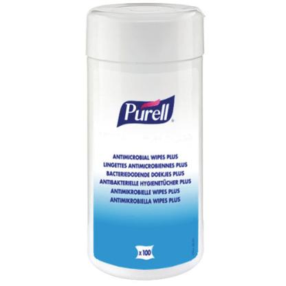 Lingettes Purell antimicrobiennes désinfectantes