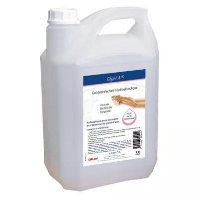 Gel hydroalcoolique Eligel A bidon de 5 litres