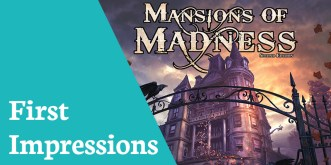 First Impressions Mansions Madness 2nd Edition